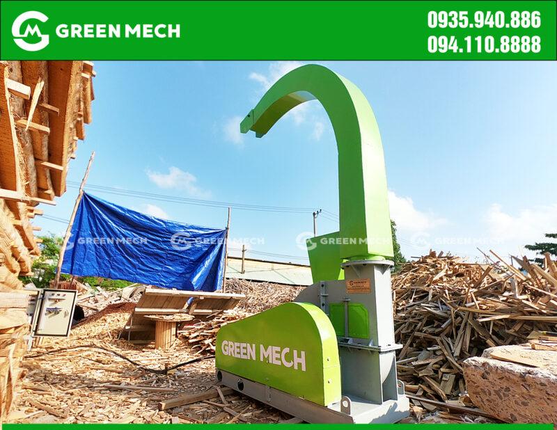 Lắp đặt máy băm gỗ 3 Tấn tại Đà Nẵng