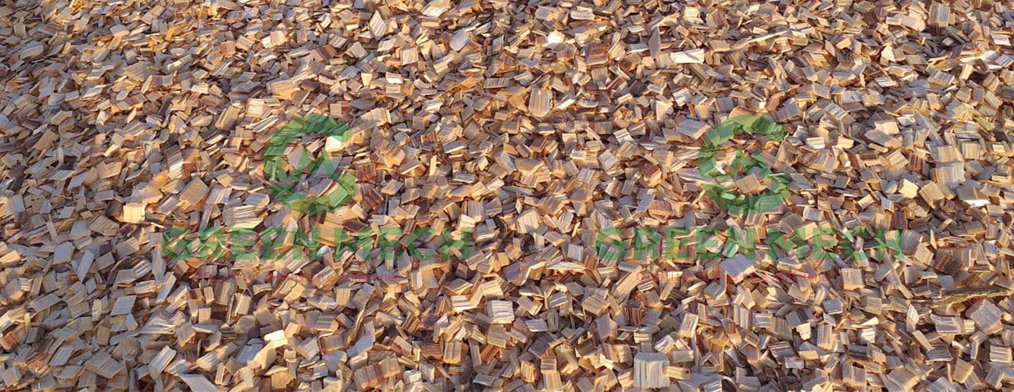 Dăm gỗ máy băm gỗ GREEN MECH