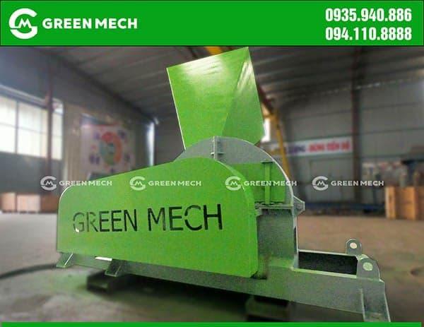 Máy băm gỗ 10 Tấn GREEN MECH Việt Nam