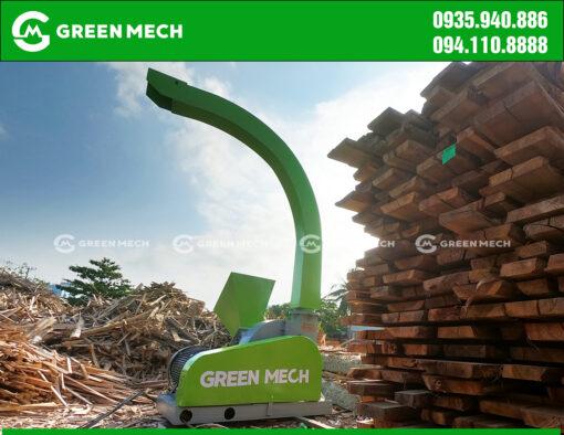 Máy băm gỗ 3 tấn tại Đà Nẵng băm gỗ bìa