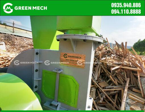 Máy băm gỗ 3 tấn tại Đà Nẵng được lắp đặt KCN Hòa Khánh