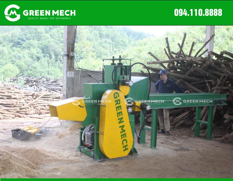Máy nghiền gỗ thành mùn cưa GM-200SM