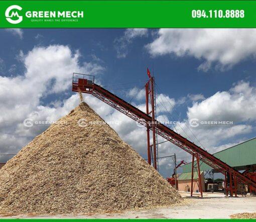 Nhà máy băm dăm gỗ xuất khẩu