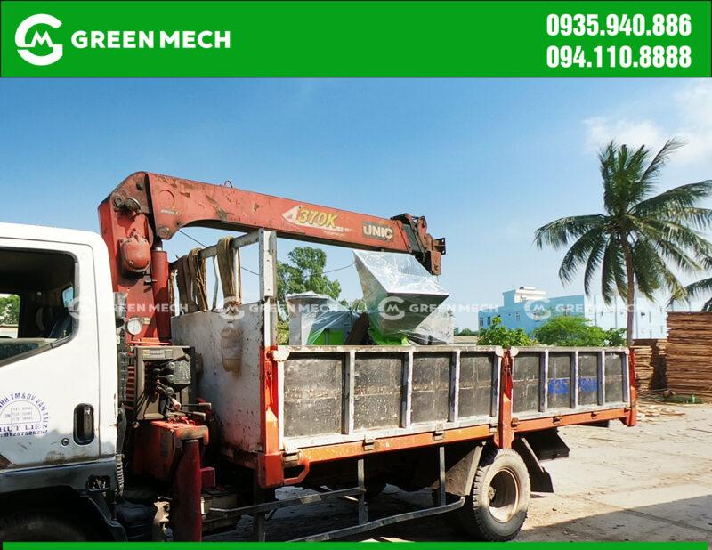 Vận chuyển máy băm gỗ 3 Tấn tại Đà Nẵng